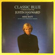 Justin Hayward with Mike Batt - Classic Blue - LPO - TRAX MUSIC MODEM-1040 Ex