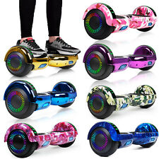 """6.5"""" Electric Hoverboard Self Balancing Led Bluetooth Ul2272 Gift No Bag Scooter"""