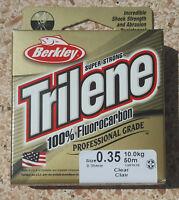 Fluorocarbon Berkley Trilene Leader 50 metri - 0.35 - 10Kg