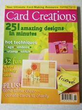 Paper crafts card creations vol. 2 2004 magazine