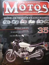 FASCICULE 35  MOTOS CLASSIQUES  BENELLI 750 SEI 1976 MOTORCYCLE MOTORRAD