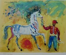 Constantin Terechkovitch The Arabian horse SIGNED HAND NUMBERED  LITHOGRAPH