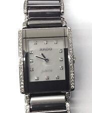 Women's Rado Integral Jubile Platinum-tone Ceramic W/Steel Watch, R20672912