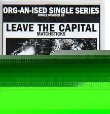 (P494) Leave the Capital, Matchsticks - DJ CD