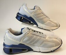 ADIDAS A3 MENS SHOE SNEAKERS SIZE 14 WHITE & BLUE VINTAGE 2002 COND EXCELLENT