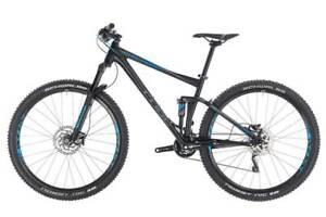 Cube Stereo 120 Black'n'Blue Mountainbike Fully Downhill wie NEU