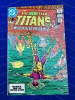 THE NEW TEEN TITANS #33 JULY 1983 NEAR MINT WHO KILLED TRIDENT? COMIC BOOK