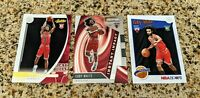 Coby White Chicago Bulls 3-Card Rookie Set {Prizm, Absolute, NBA Hoops}