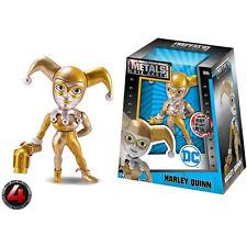 """Batman - Harley Quinn Gold 4"""" Metals Figure NEW Jada Toys"""