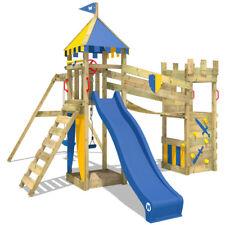 WICKEY Smart Hero Climbing Frame kids tower playground slide doubleswing sandpit