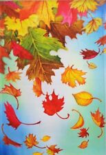 """Autumn Leaves Outdoor Garden Flag by Premier 12""""x18"""", #6041 Fall"""