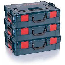 3 STÜCK Bosch Maschinenkoffer L-Boxx Gr. 2 - Sortimo 136 2608438692 Lbox Größe 2