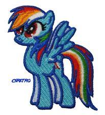 My Little Pony Rainbow Dash Vintage Retro Style 90s Kids Iron on Patch NEW usa