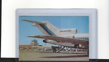 Eastern Airlines 727 at Raleigh NC airport postcard