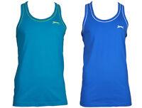 SLAZENGER Muskel Shirt Muscle T-Shirt Top Tank Herren h2