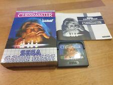 The Chessmaster Sega Game Gear OVP CIB
