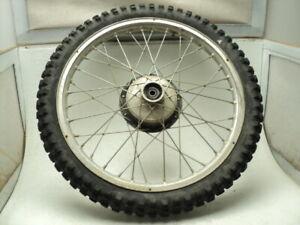 "Bultaco Alpina 350 #9520 Akront 21"" Front Wheel & Tire (A)"