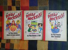 Les Pieds Nickelés - Lot de 3 albums - Ed Hachette - BD Aventure/Humour