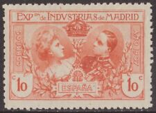 España 1907 Edifil SR1 Sello * Exposicion Industrias de Madrid 10c Spain Stamps