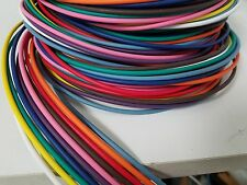 250 FEET AUTOMOTIVE PRIMARY WIRE 20 GAUGE AWG HIGH TEMP GXL 10 COLORS 25 FT EA