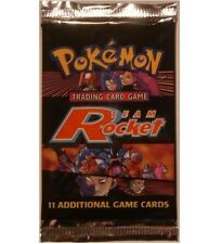 Pokemon Team Rocket Booster Pack From Box! Charizard? Out Of Print!