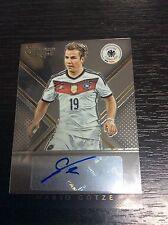 2015 Panini Select Soccer Mario Gotze 7/46 Germany Auto Autograph SSP