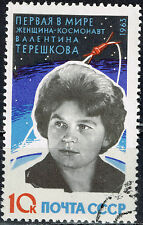 Russia Soviet Space Valentina Flight 1963 stamp