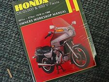 Haynes Honda CX500 GL500 CX650 GL650 Repair Manual
