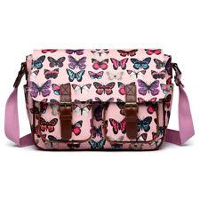 Ladies Satchel Shoulder Handbag Bag School A4 Crossbody Messenger Gifts