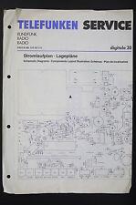 TELEFUNKEN Radio Digitale 30 Original Service-Manual/Stromlaufplan/Schaltplan 87