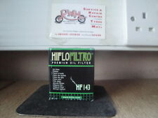 YAMAHA TW125 YEARS 1999 / 2004   HIFLOFILTRO OIL FILTER HF143