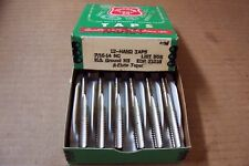 LOT OF 12, STANDARD TOOL CO.,  7/16-14 NC, HS GROUND H3, 4 FLUTE, TAPS