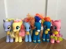 "Complete Set Of 6 My Little Pony Wonderbolts 6"" Target Exclusive"