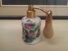 Vapocler Clercygne Bottle ~ Pink Bouquet ~ Bottle / Vase ~ Paris Limoges France