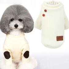 Maglione Bianco vestito maglia maglioncino giacca cane gatto animali domestici