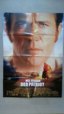 Filmplakat : Der Patriot ( Mel Gibson , Heath Ledger )