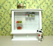 1/12 Dollhouse Miniature Furniture Food Bakery Display Shelf Cabinet Show Case