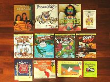 Lot 12 Children's Books - Too Many Tamales, Possum Magic, Bad Case of Stripes +