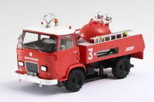 Véhicules de pompiers miniatures rouges