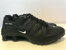 Mens Nike Shox NZ EU Black / White 501524 091
