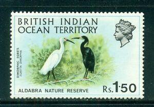 BRITISH INDIAN OCEAN TERRITORY 42 SG39 MH 1971 1.50r Reef Herons Cat$13