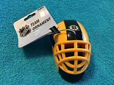 FOREVER COLLECTIBLES:  NHL TEAM ORNAMENT BOSTON BRUINS HOCKEY MASK - NEW