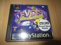 Evo's Space Adventure Sony PlayStation 1 ps1 mint collectors  pal