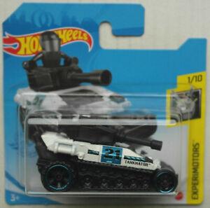 Hot Wheels Tanknator Panzer weiß/schwarz Experimotors Neu/OVP HW Mattel Tank