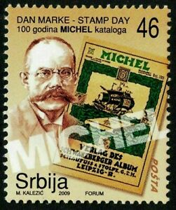 Serbia, 2009, Stamp Day, MICHEL catalogue MNH Unused stamp