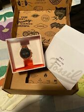 Fossil Smartwatch Series 4  Rose Gold Metal Band New In Box with OEM package