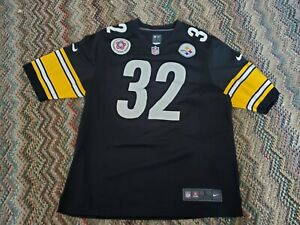 Franco Harris Pittsburgh Steelers Home Jersey Men's Sz L bicentennial patch used