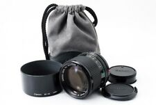 Canon New FD 85mm F1.8 NFD MF Lens [Exc+++] w/BT-52 Hood,Case From Japan [430]