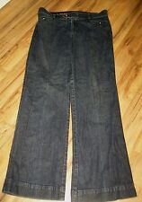 DOCKERS SIZE 12 M JEANS LOW RISE FLARE CUTE