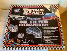 Trans-Dapt Performance Products 1122 Single Oil Filter Relocation Kit Chevy/GM